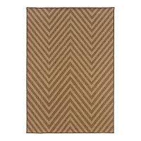 Oriental Weavers Karavia Chevron Indoor Outdoor Rug