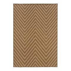 StyleHaven Kendall Chevron Indoor Outdoor Rug