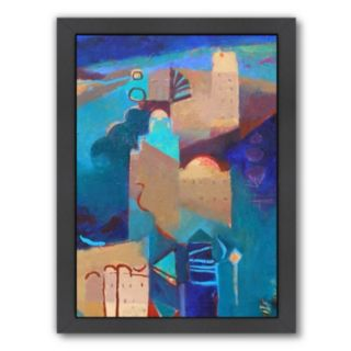 Americanflat ''The Towers of Tizgui'' Framed Wall Art
