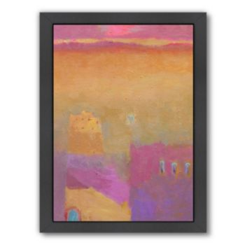 Americanflat ''The Road to Zagora'' Framed Wall Art
