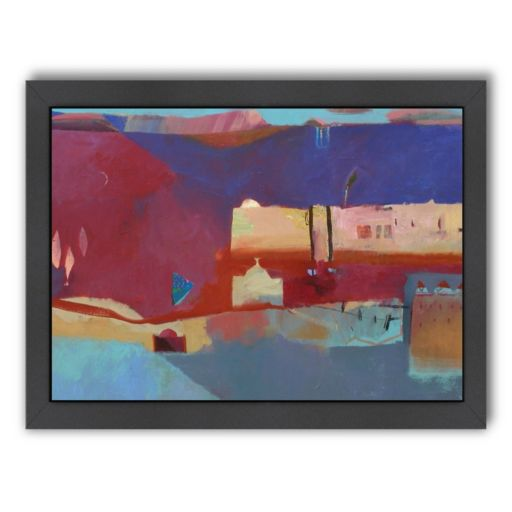 Americanflat ''The Road to the Desert'' Framed Wall Art