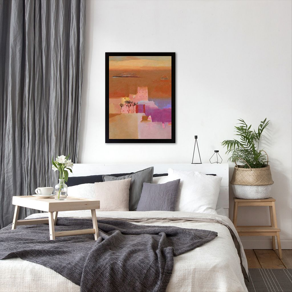Americanflat ''The Road to Ouarzazate II'' Framed Wall Art