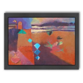 Americanflat ''The Road to Ouarzazate'' Framed Wall Art