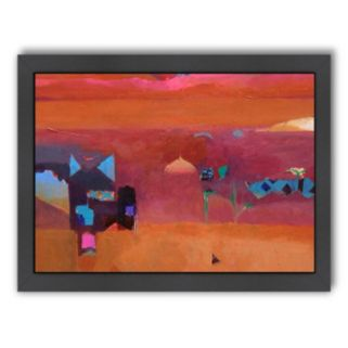 Americanflat ''The Pinks of the Atlas Mountains'' Framed Wall Art