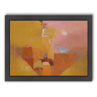 Americanflat ''The Mud Walls of Ait-Arbi'' Framed Wall Art