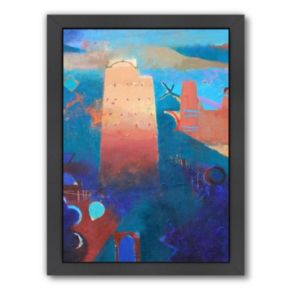 Americanflat ''The Kasbahs of Imiter'' Framed Wall Art