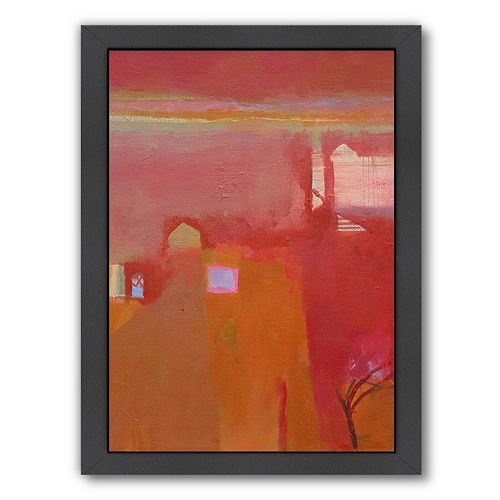 Americanflat ''Rajasthan Dawn'' Framed Wall Art