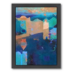 Americanflat ''Moroccan Vase'' Framed Wall Art