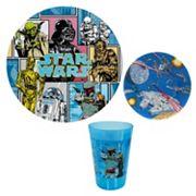 Star Wars Kid's 3 pc Dinnerware Set