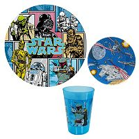 Star Wars Kid's 3 pc Dinnerware Set