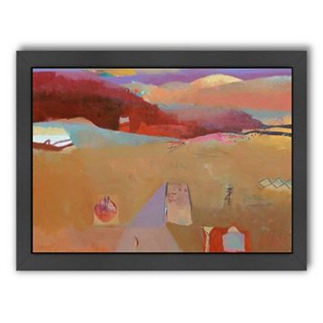 Americanflat ''Moroccan Journey'' Framed Wall Art
