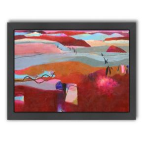 Americanflat ''Moroccan Hills'' Framed Wall Art