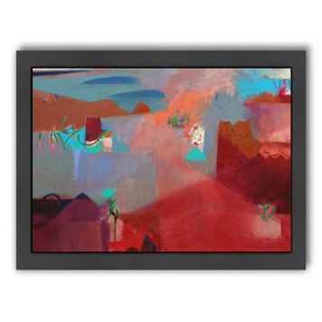 Americanflat ''Misty Marrakech Morning'' Framed Wall Art