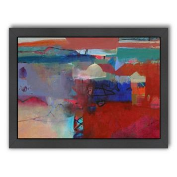 Americanflat ''Marrakech Haze'' Framed Wall Art