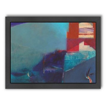 Americanflat ''Marrakech Blues'' Framed Wall Art