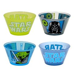 Star Wars Kid's 4 pc Melamine Bowl Set