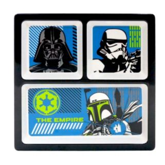 Star Wars Kid's 9-in. Melamine Divided Plate