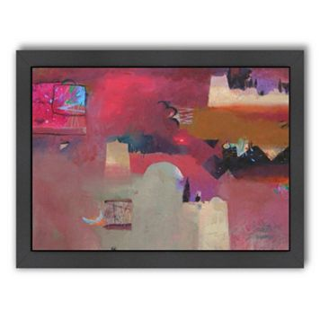 Americanflat ''Kasbahs in the Ziz Valley'' Framed Wall Art