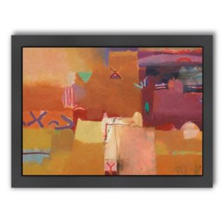 Americanflat ''Kasbahs at Tamtattouchte'' Framed Wall Art