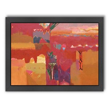 Americanflat ''Kasbah Towers 2'' Framed Wall Art