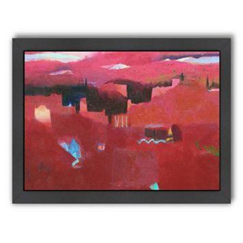 Americanflat ''High Atlas Reds II'' Framed Wall Art