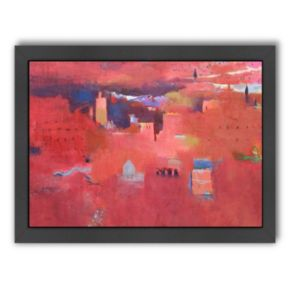 Americanflat ''High Atlas Reds'' Framed Wall Art