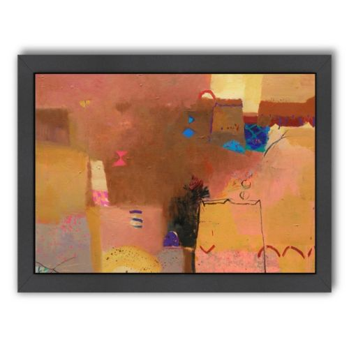 Americanflat ''Golden Light'' Framed Wall Art