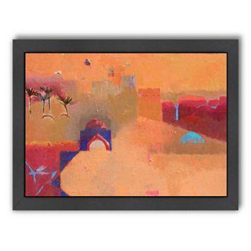 Americanflat ''Gateway to the Desert'' Framed Wall Art