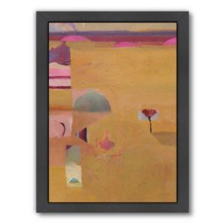 Americanflat ''Desert Yellows II'' Framed Wall Art