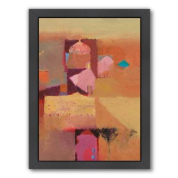 Americanflat ''Desert Domes'' Framed Wall Art