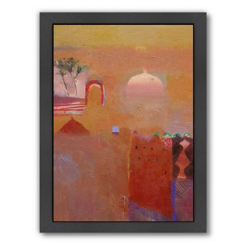 Americanflat ''Date Palms in the Draa Valley'' Framed Wall Art