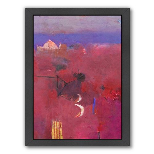 Americanflat ''Dades Valley Reds'' Framed Wall Art