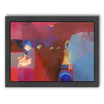 Americanflat ''Cinnabar Light'' Framed Wall Art