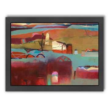Americanflat ''Berber Village'' Framed Wall Art