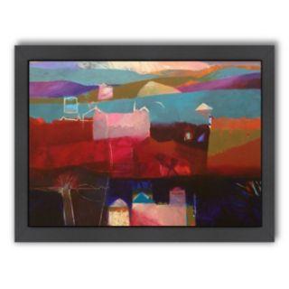 Americanflat ''Atlas Kasbahs'' Framed Wall Art