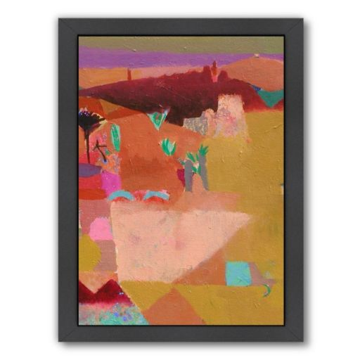 Americanflat ''Atlas Angles'' Framed Wall Art