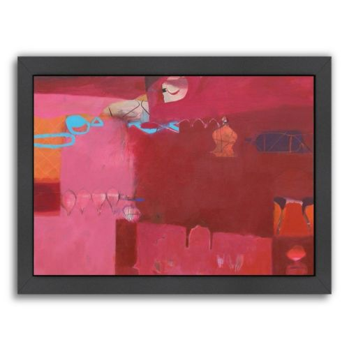 Americanflat ''Ajmer Pinks'' Framed Wall Art