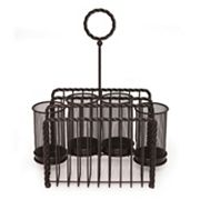 Mikasa Gourmet Basics Rope Buffet Flatware Caddy