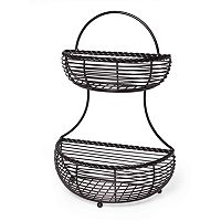 Mikasa Gourmet Basics 2-Tier Basket
