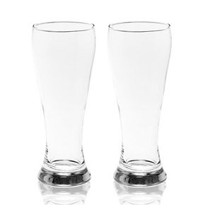 Mikasa Gourmet Basics Danube 2-pc. Pilsner Glass Set