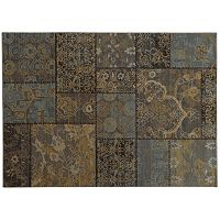 StyleHaven Legacy Patchwork Wool Rug