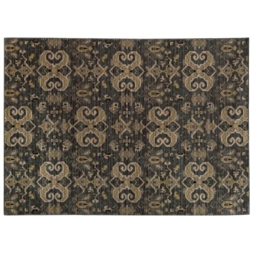 StyleHaven Legacy Traditional Airbrush Ikat Wool Rug