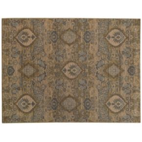 StyleHaven Legacy Traditional Floral Ikat Wool Rug