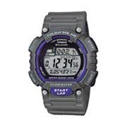 Casio Men's Tough Solar Digital 120-Lap Chronograph Watch