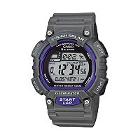 Casio Men's Tough Solar Digital 120-Lap Chronograph Watch