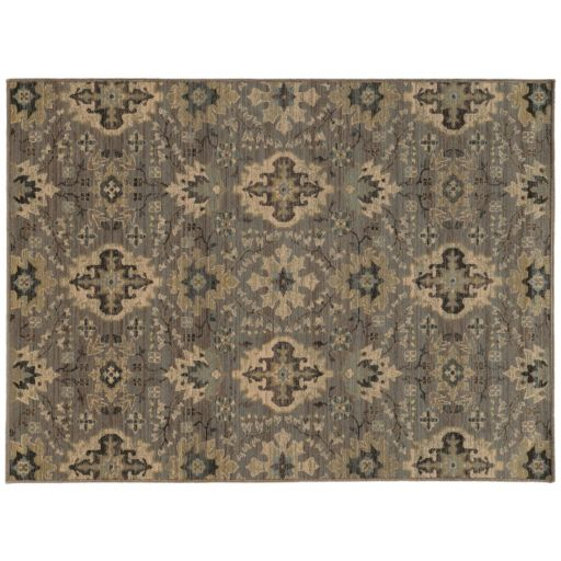 StyleHaven Legacy Faded Floral Ikat Wool Rug