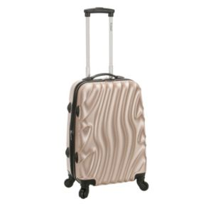 Rockland Melbourne 20-Inch Hardside Wave Spinner Carry-On Luggage