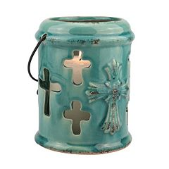 Stonebriar Collection Cross Lantern