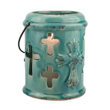 Stonebriar Collection Cross Lantern