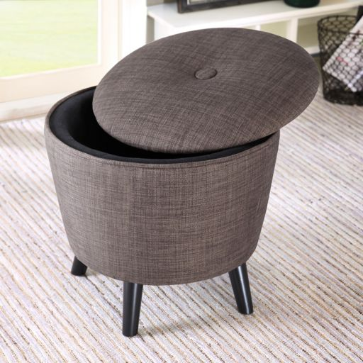 Madison Park Adam Ottoman